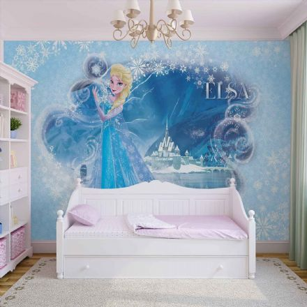 Elsa Frozen Disney giant wallpaper mural